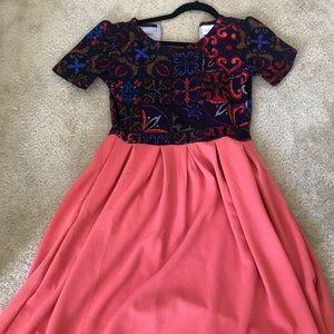 NWOT Lularoe Small Amelia Dress